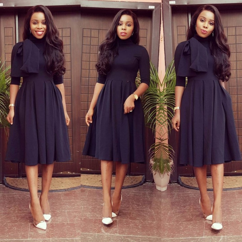 Simple Yet Classy Styles For Church - Amillionstyles.com @mizwanneka
