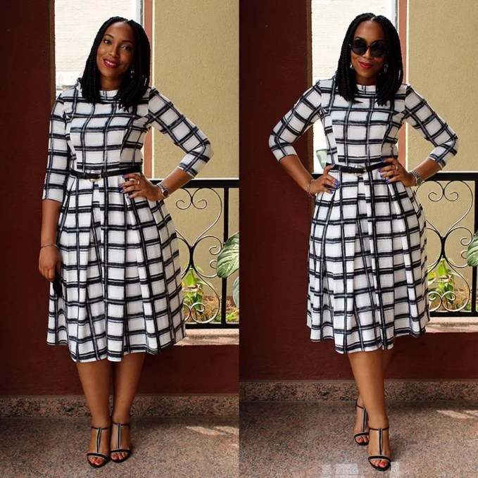Fashion For Church - Plain, Patterned And Flora Dresses amillionstyles @thechameleonblogger