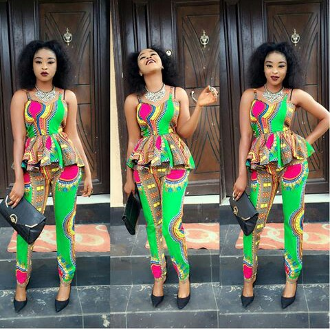 6 Pant Trousers & Jumpsuit In Ankara Styles. Amillionstyles.com @khinah_