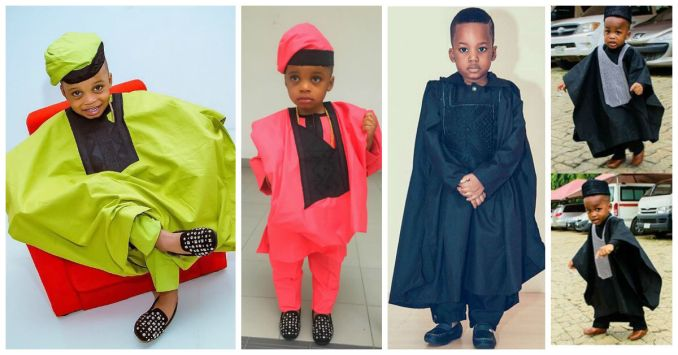 Awesome Agbada Styles For Children