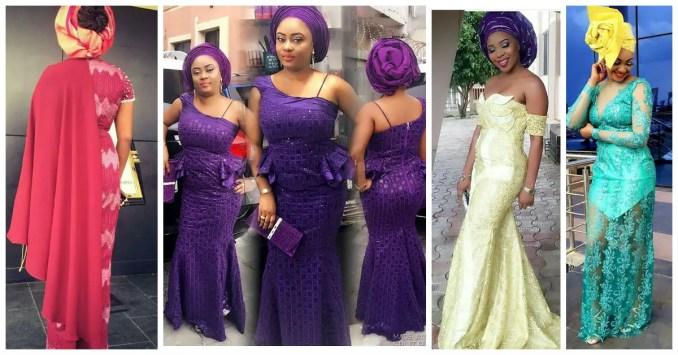 Sophisticated Nigerian Aso Ebi Styles - Amillionstyles