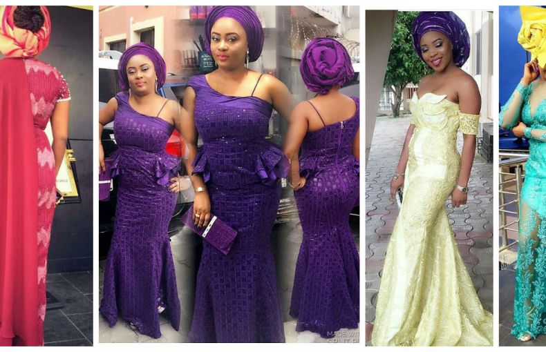 Sophisticated Nigerian Aso Ebi Styles - Amillionstyles