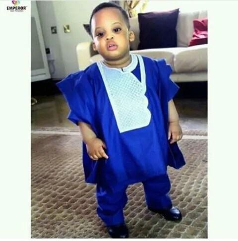Awesome Agbada Styles For Children amillionstyles.com @lisvicbadoo