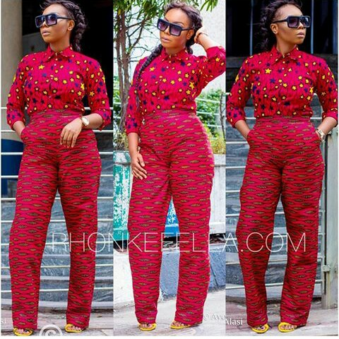 Delectable Trending Ankara Pants amillionstyles.com @therealrhonkefella