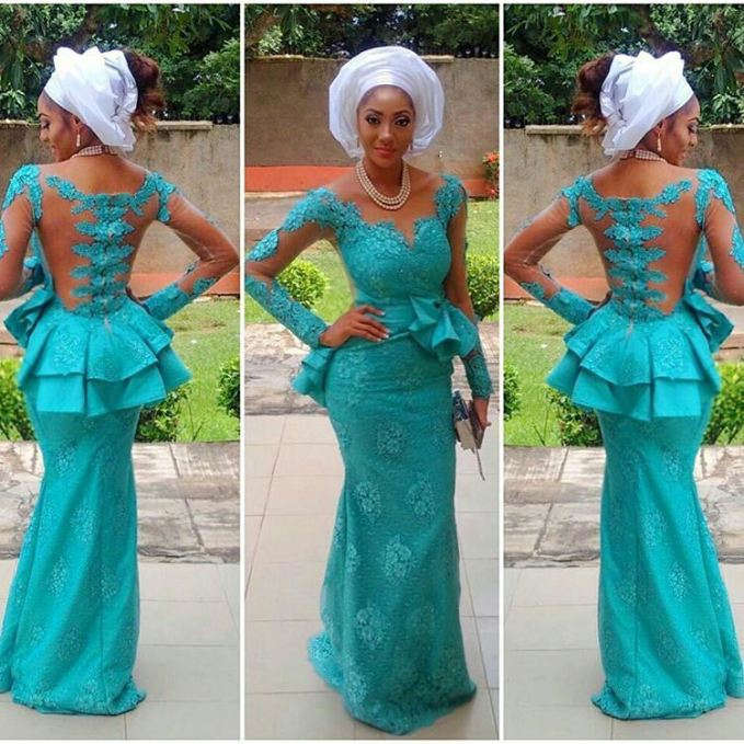 Outstanding Mid Week Aso Ebi Styles amillionstyles.com @delonyii