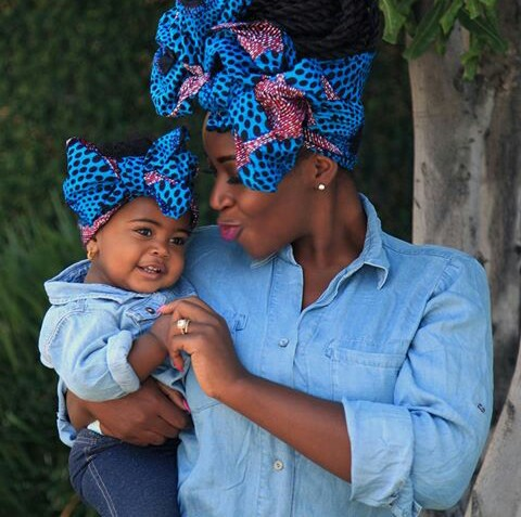 Stylish Mother And Daugther/Son Outfits amillionstyles.com @iwinosaighile