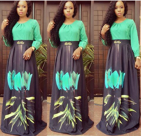 Amazing Ways To Rock Maxi Skirt Or Print Skirt amillionstyles @btmaxfashion