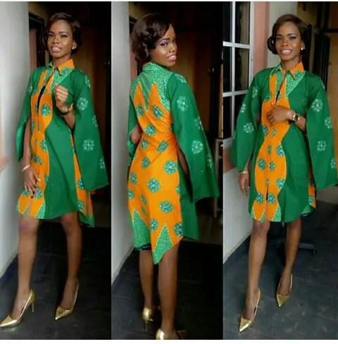 Classy Ankara Dresses - amillionstyles @ssslamozinda1