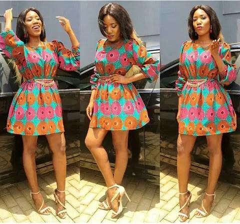 Fabulous Ankara Short Gown Dresses Amillionstylescom