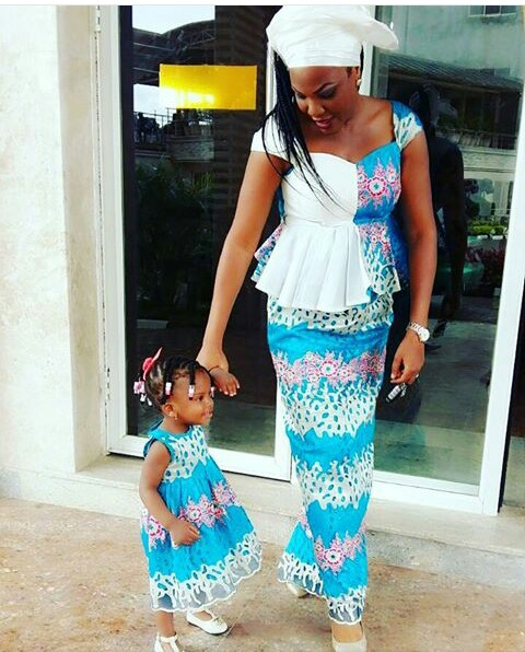 Mum And Daughter Outfits amillionstyles.com @spikingjay