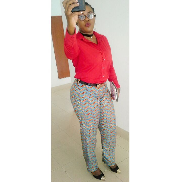 Colorful Ankara Pant amillionstyles.com @officialstephperez