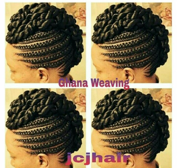 7 Ghana Weaving Styles You Should Try @jcjhair