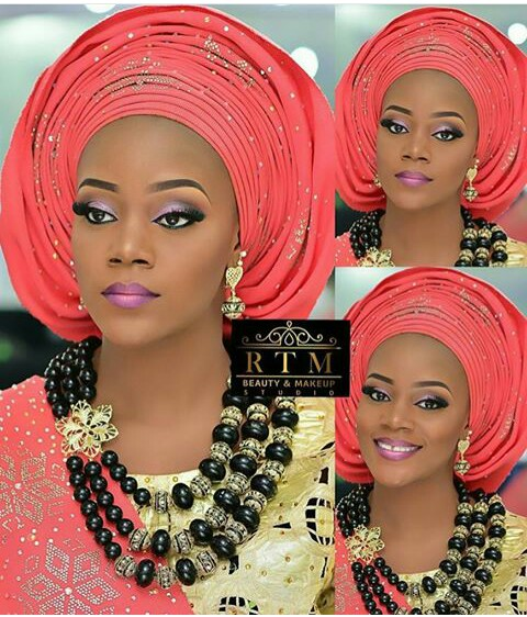 10 Lovely Traditional Bridal Makeup Looks amillionstyles @laular_1