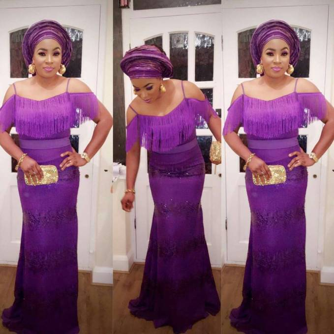 Latest Aso Ebi Styles Inspiration For Your Owambe Turn Up