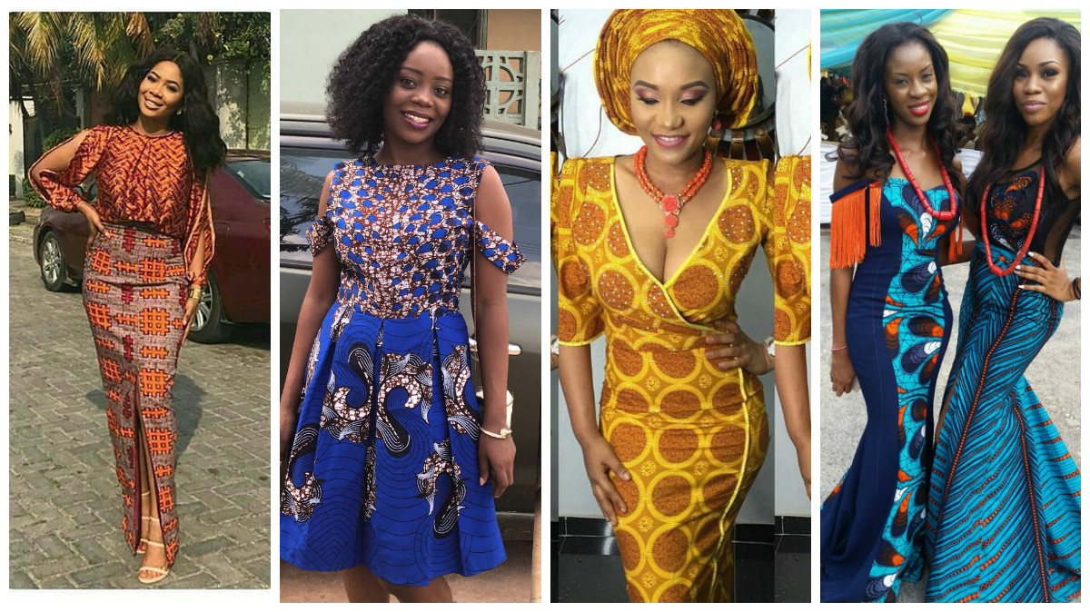 Pop Of Culture Stunning Ankara Styles