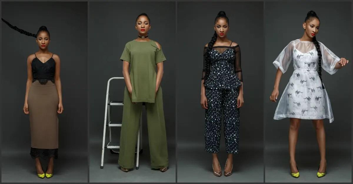 Actress Adesua Etomi Models The Wana Sambo 2017 Holiday Collection