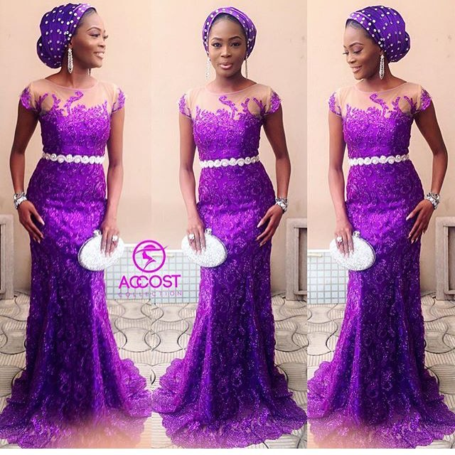 Steal The Show This Weekend With Your Fab Aso Ebi Styles.