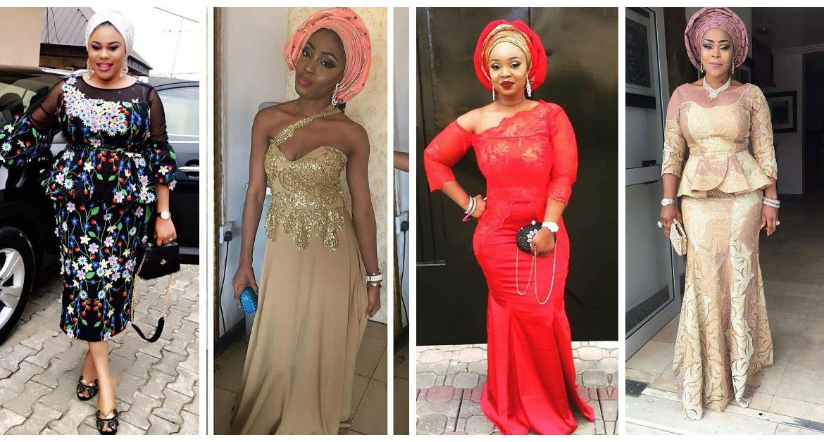 These Beautiful Aso Ebi Styles Will Have You Ready For Owambe Saturday.