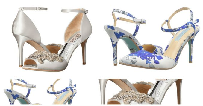 bride shoes amillionstyles