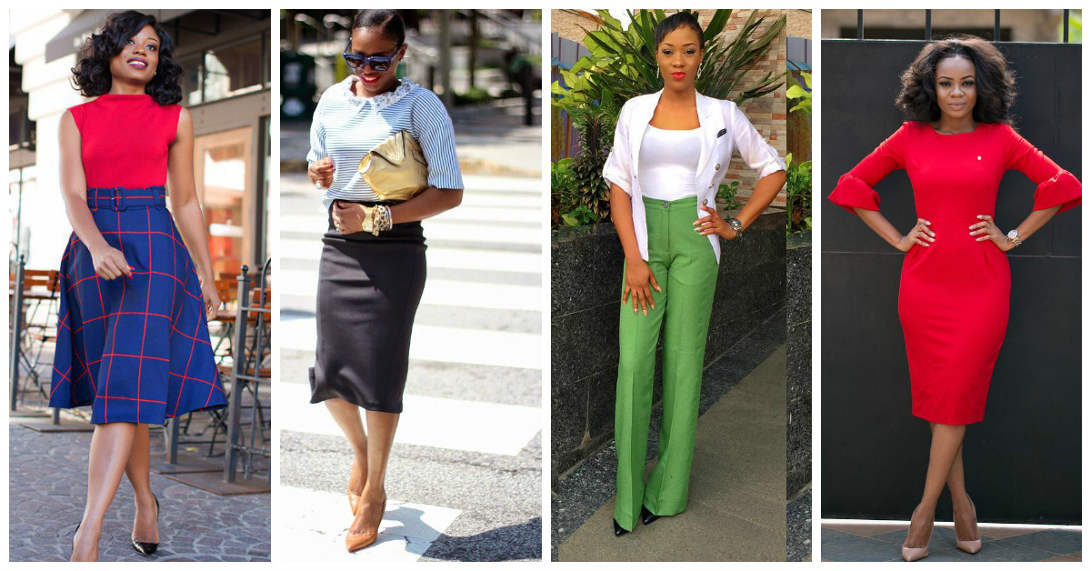 Latest Coporate Attire's For The Modern Woman
