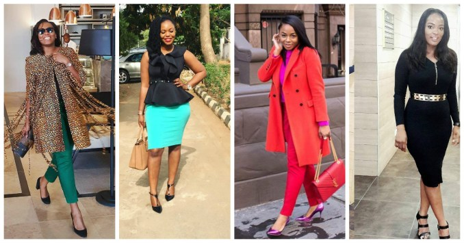 Keep It Class This Work Week In Fab Corporate Attires.