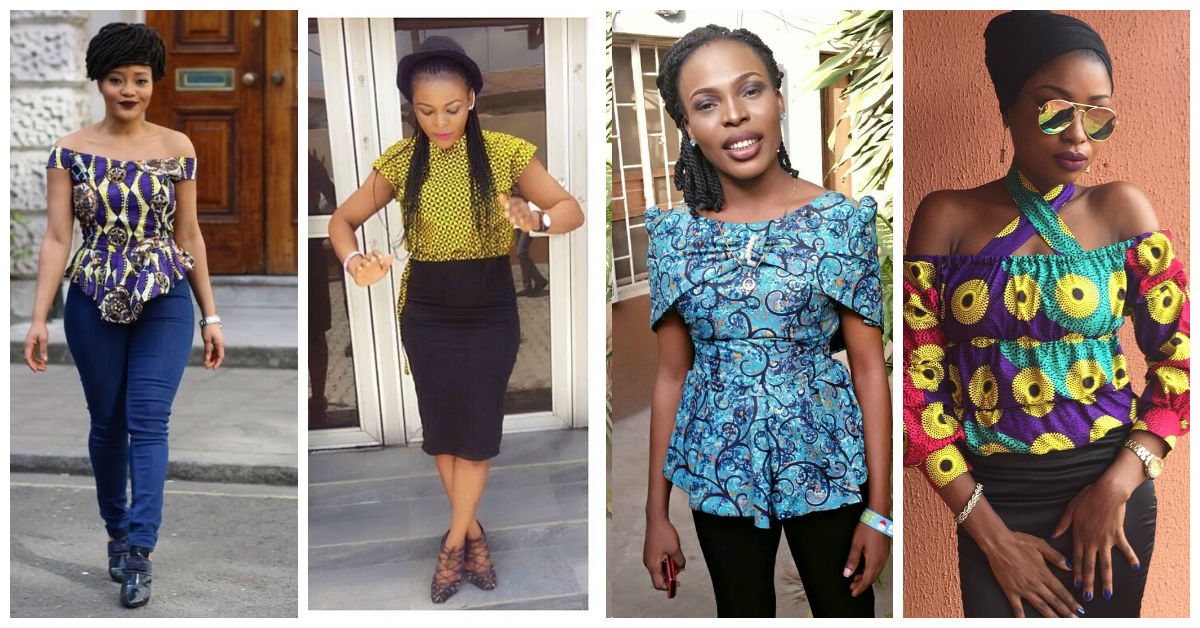 Chic Ankara Tops That Make Sense.