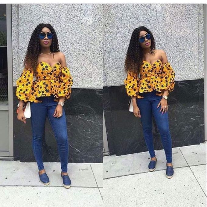 We Can't Get Enough Of These Lovely Ankara Tops