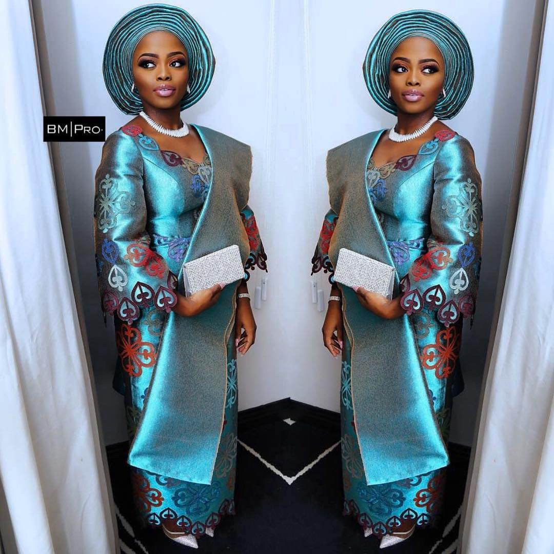 Yoruba Brides Who Slayed at their Traditional Wedding! | A Million ...