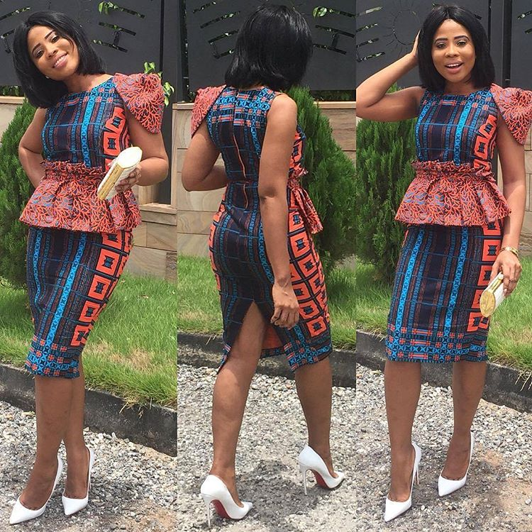 You Need To See These Cutting Edge Ankara Styles Perfect For Work