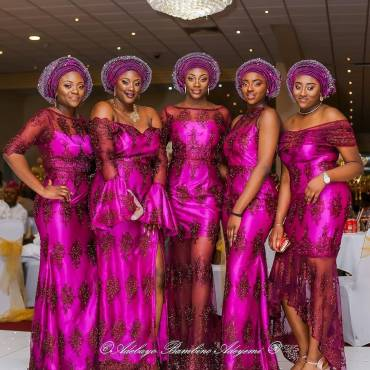 Enhance Your Style Game This Weekend With These Splendid Aso Ebi Styles
