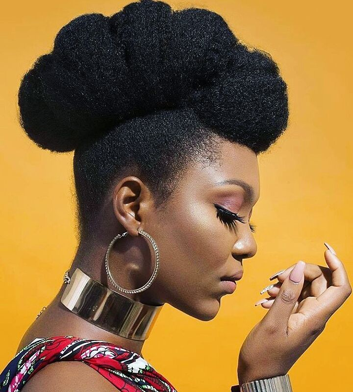 Video: Loving This Updo Hairstyle For Natural Hair