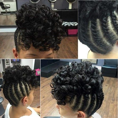 Latest Hair Style 2018 Attend Wedding Hair Tied Back: Spice Up Your Hair With These Natural Hairstyles