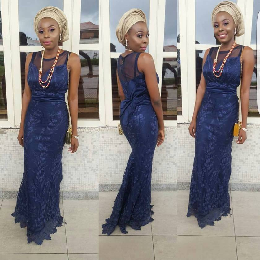 Latest Aso Ebi Styles Instaqueens Are Saying At Owambe Parties