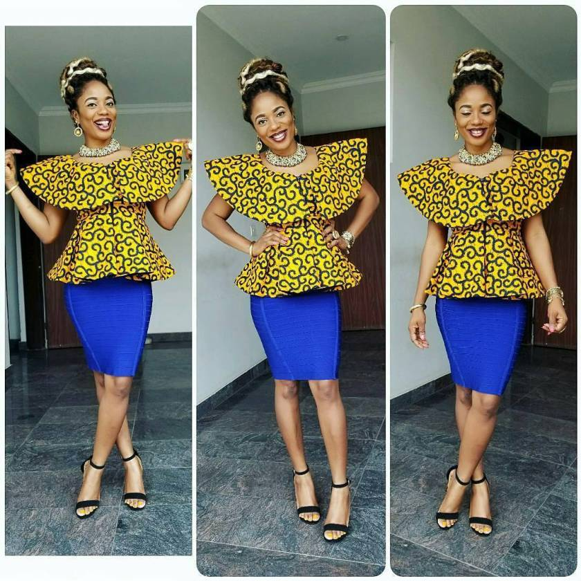 Check Out These Ankara Stylatitude For Every Glam Queen