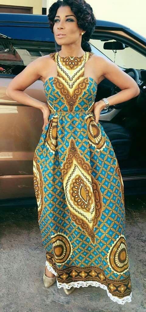 See These Ankara Maxi Dresses Styles A Million Styles