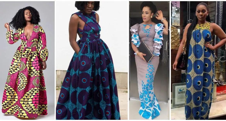 ankara maxi dresses-amillionstyles