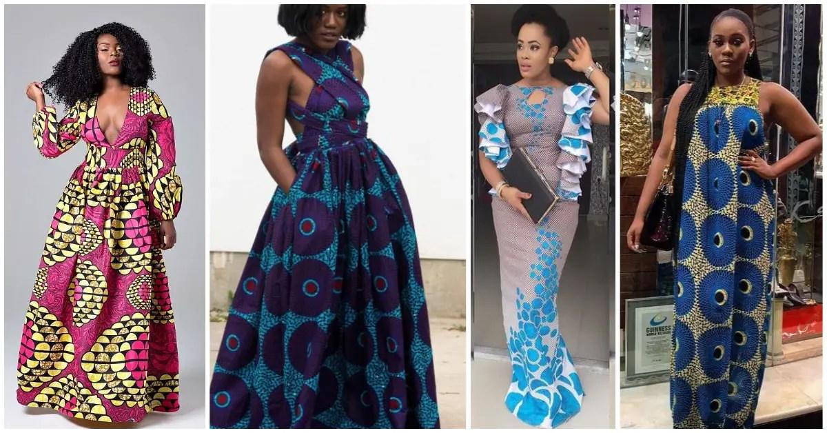 See These Ankara Maxi Dresses Styles A Million Styles