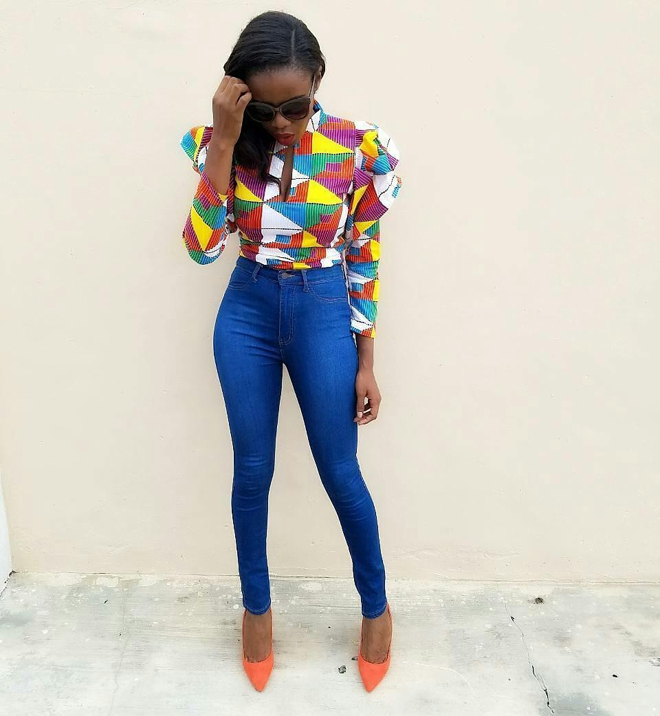 Drool Over These Unique Ankara Tops