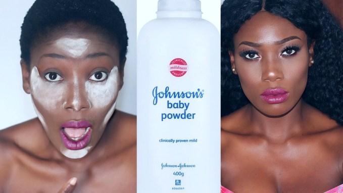 Makeup Tutorial: Baking Highlight With Baby Powder