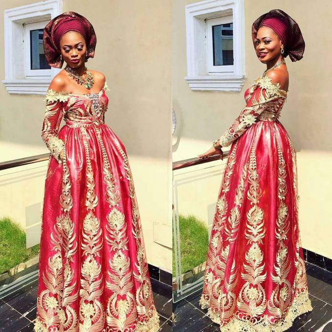 Peep These Glamsquad Asoebi Styles Ladies Part 2