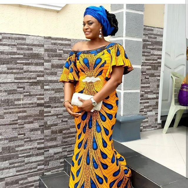 Trending Tuesday! Ankara Styles Popping Up These Days On Social Media, are so worth having in your collection.