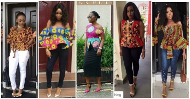 Now lets show you how Stunning Ankara Tops Came To Play Over The Weekend.