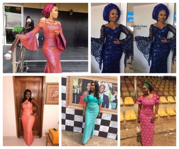 Beautiful Aso Ebi Styles To Begin The New Week