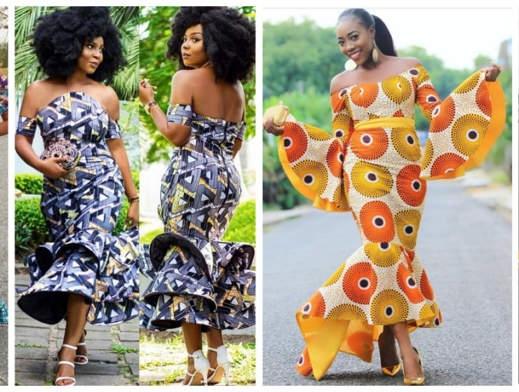 We Are Serving These Fitted And Flared Ankara Styles Dishes Hot!