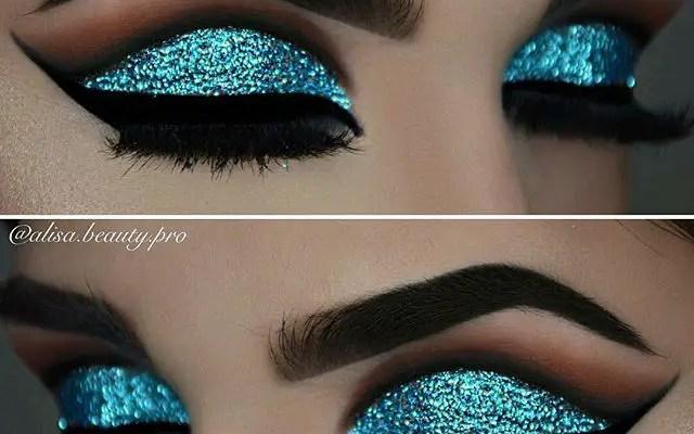 Makeup Tutorial: Slay The Glitter Eye Look