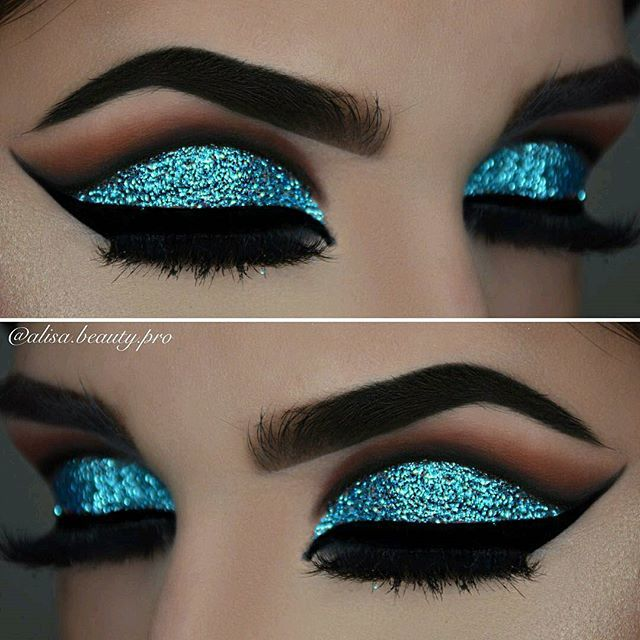 Makeup Tutorial: Slay The Glitter Eye Shadow Look