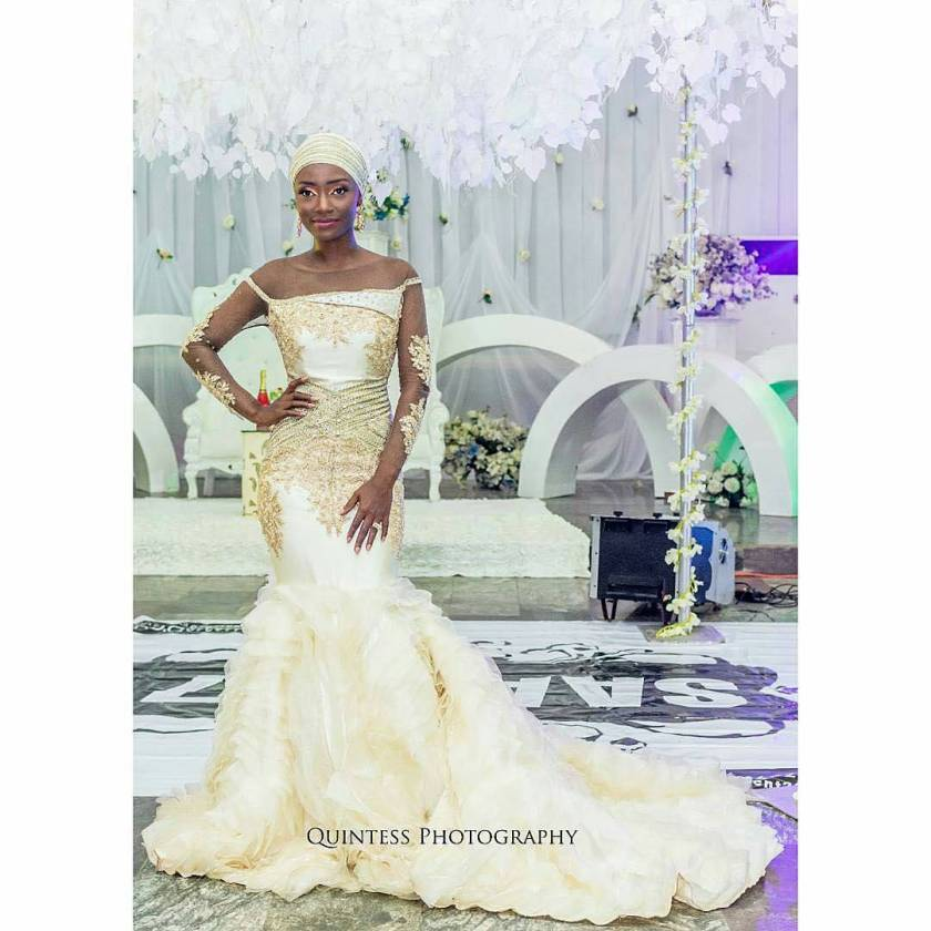 Here Are Sumptuous Latest Reception Dresses