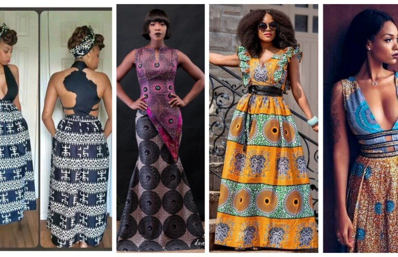 Opt For The Latest Ankara Maxi Gowns Styles For Events