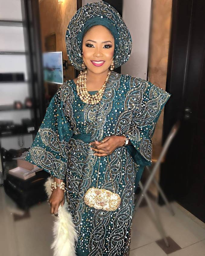 All Shades Of Beautiful Nigerian Brides Traditional Outfits