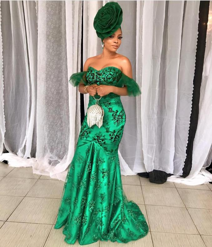 These Sexy Ladies Strutted Their Stuff In The Best Latest Asoebi Styles